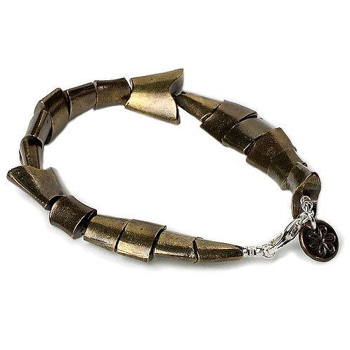 Flex Fish Bracelet - Bronze Finish