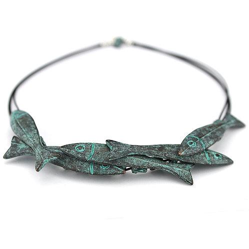 Shoal Necklace - Copper Finish