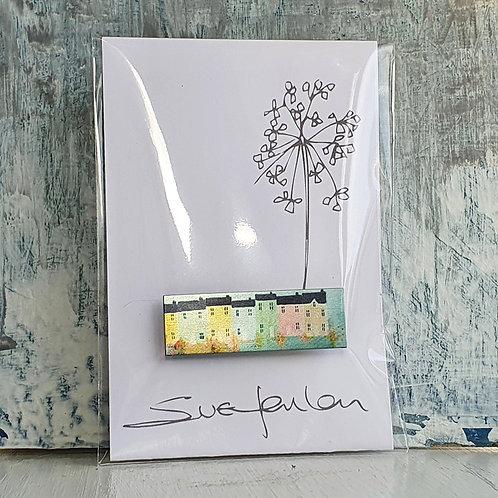 Sue Fenlon 'Spring Tides' Brooch