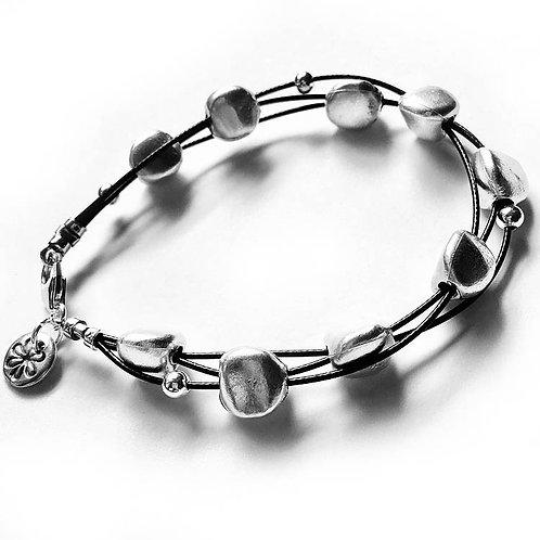 Pebble Bracelet - Silver Finish