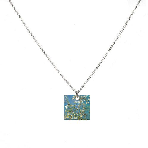 Van Gogh Necklace - Almond Blossom - Square