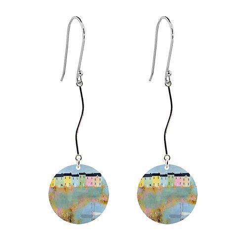 Sue Fenlon 'Spring Tides' Earrings - Long Round