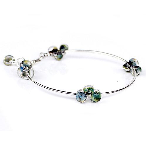 Ocean Glass Bracelet