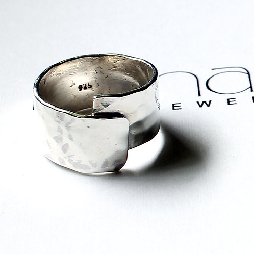 Mexican Silver Hug Ring