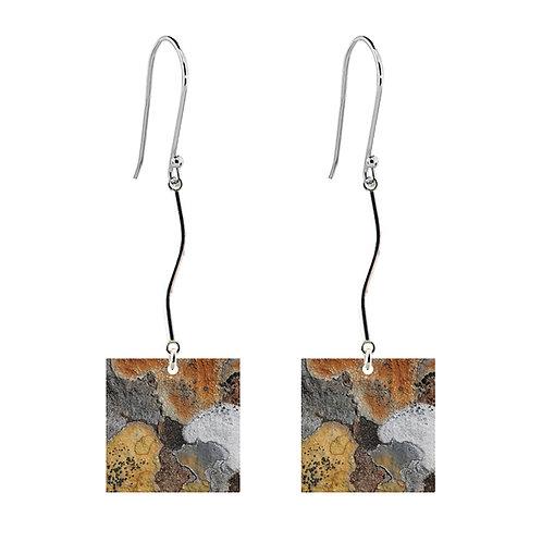 Lichen IV Long Earrings