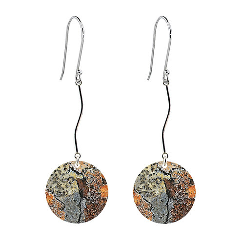 Lichen IX Long Earrings