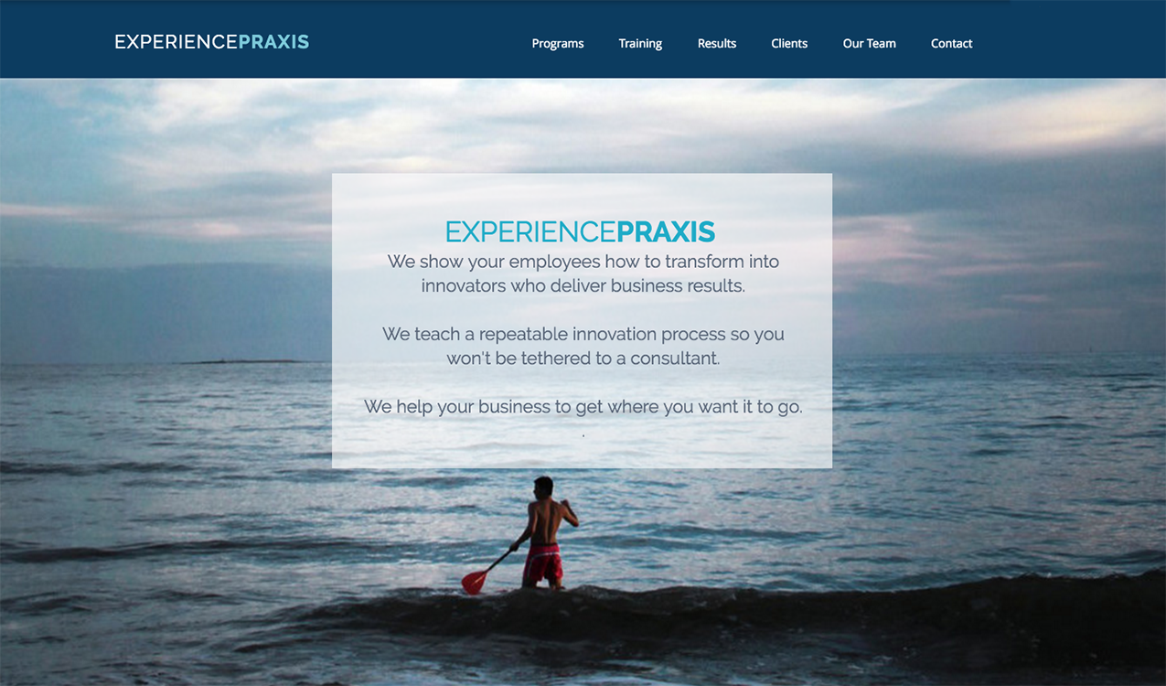 Experience Praxis Web Site