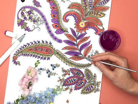 How To Design a Paisley with Impact
