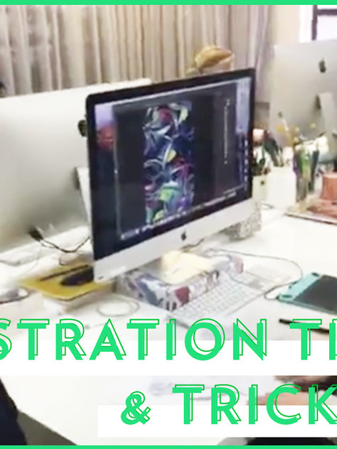 WATCH: ILLUSTRATION TIPS FROM OUR DESIGNERS