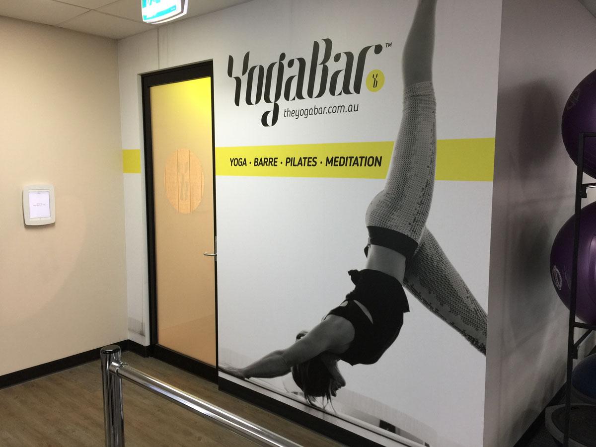 YogaBar Wall Montage 2