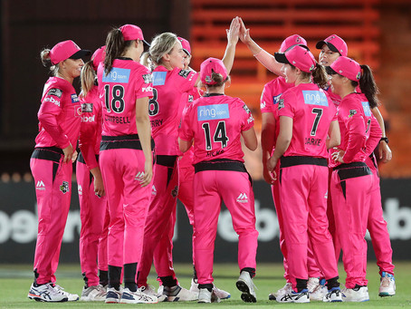 Ellyse off to soaring start in WBBL|05
