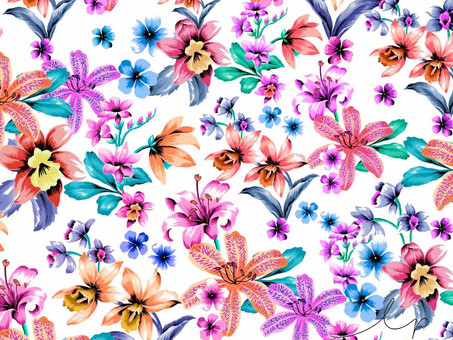 2 Minute Tutorial: Design a Floral with Flow