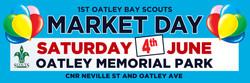 1st Oatley Bay Scouts Banner