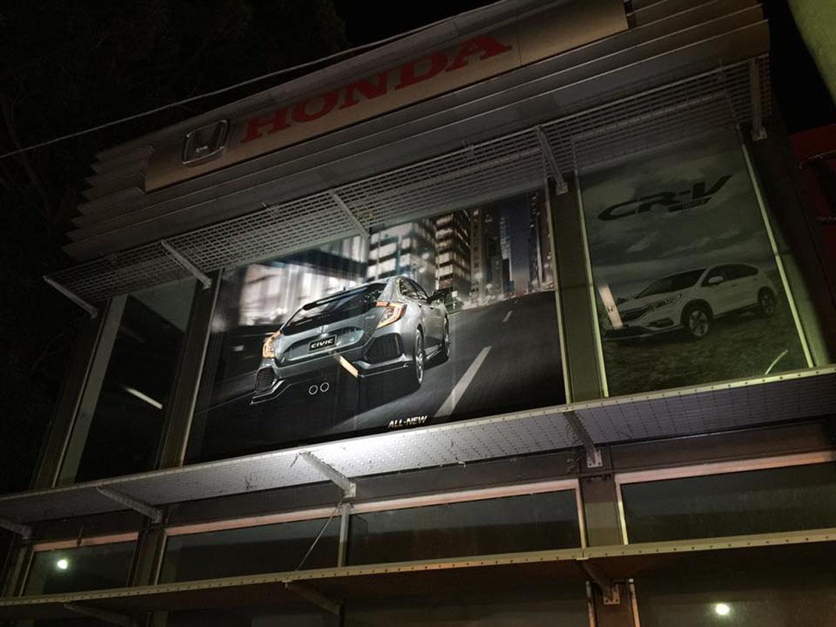 Honda Showroom Sutherland