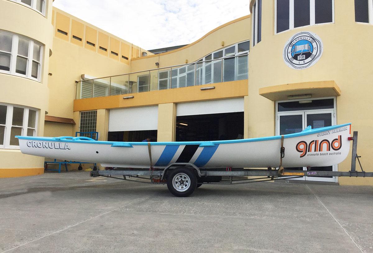 Cronulla SLSC - Grind Surf Boat 1