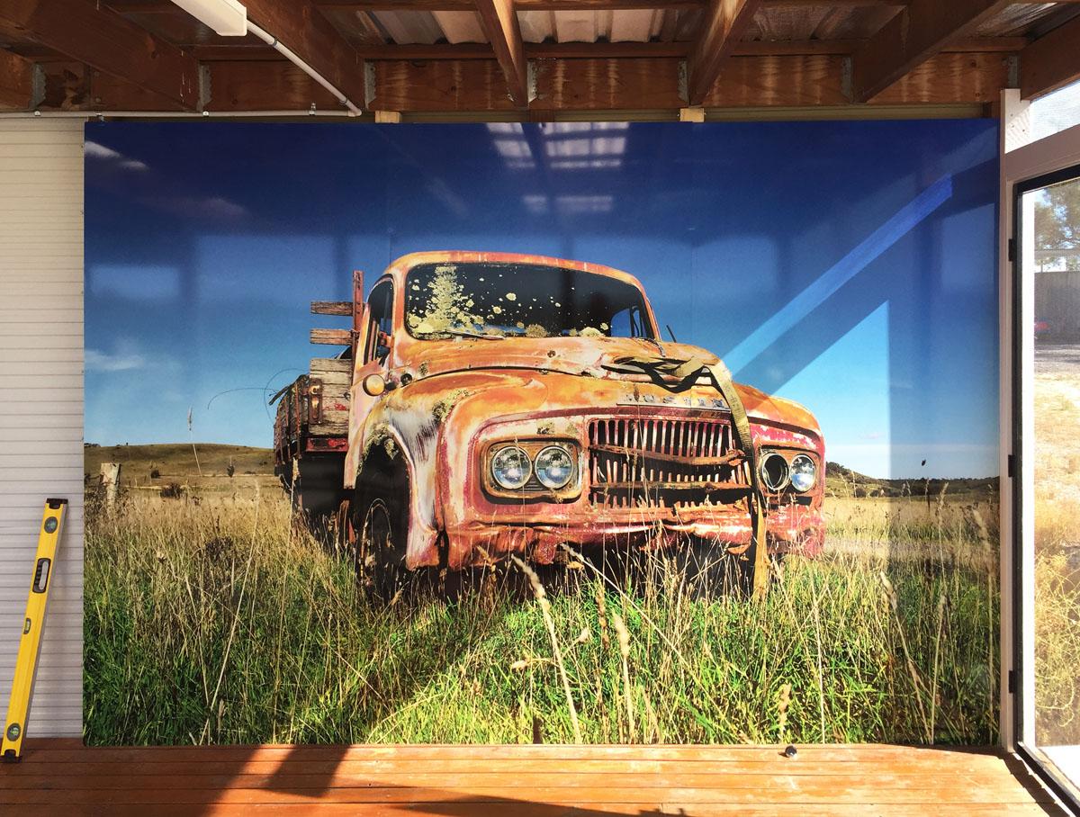Truck Wall