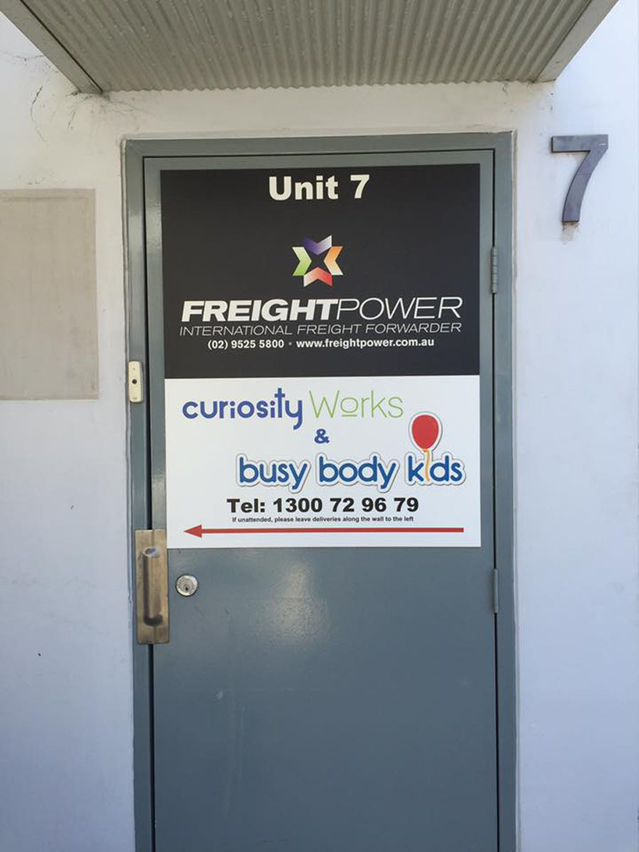 FP and CW sign