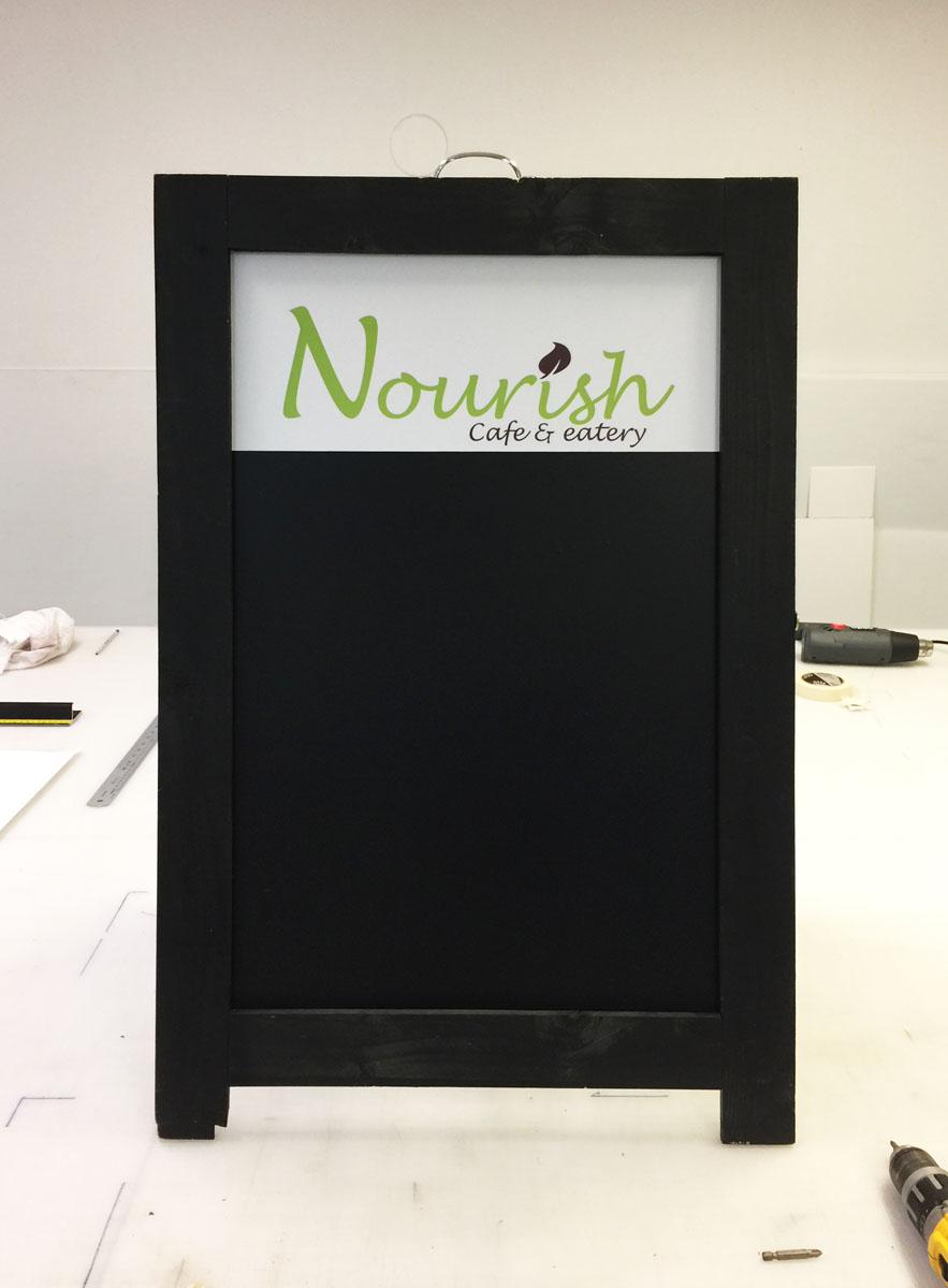 Nourish A Frame