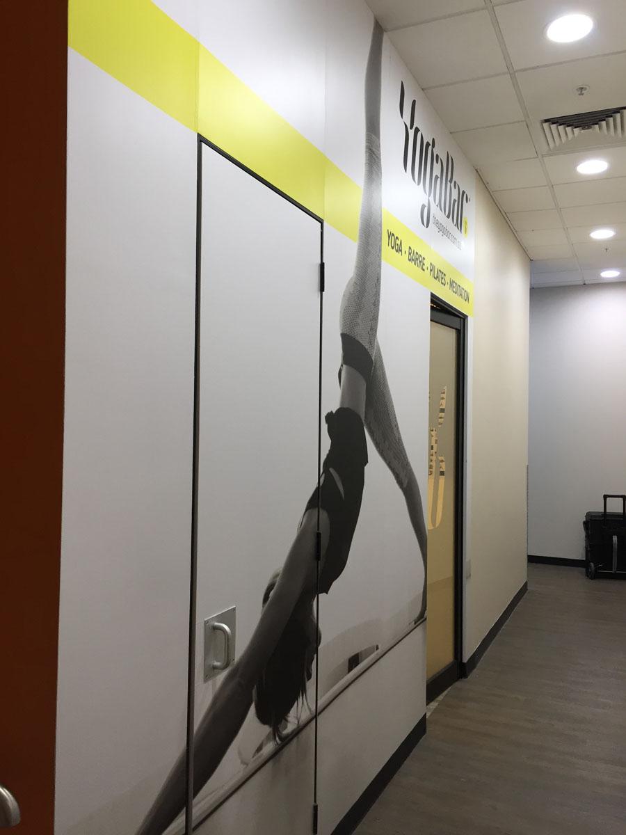 YogaBar Wall Montage 1