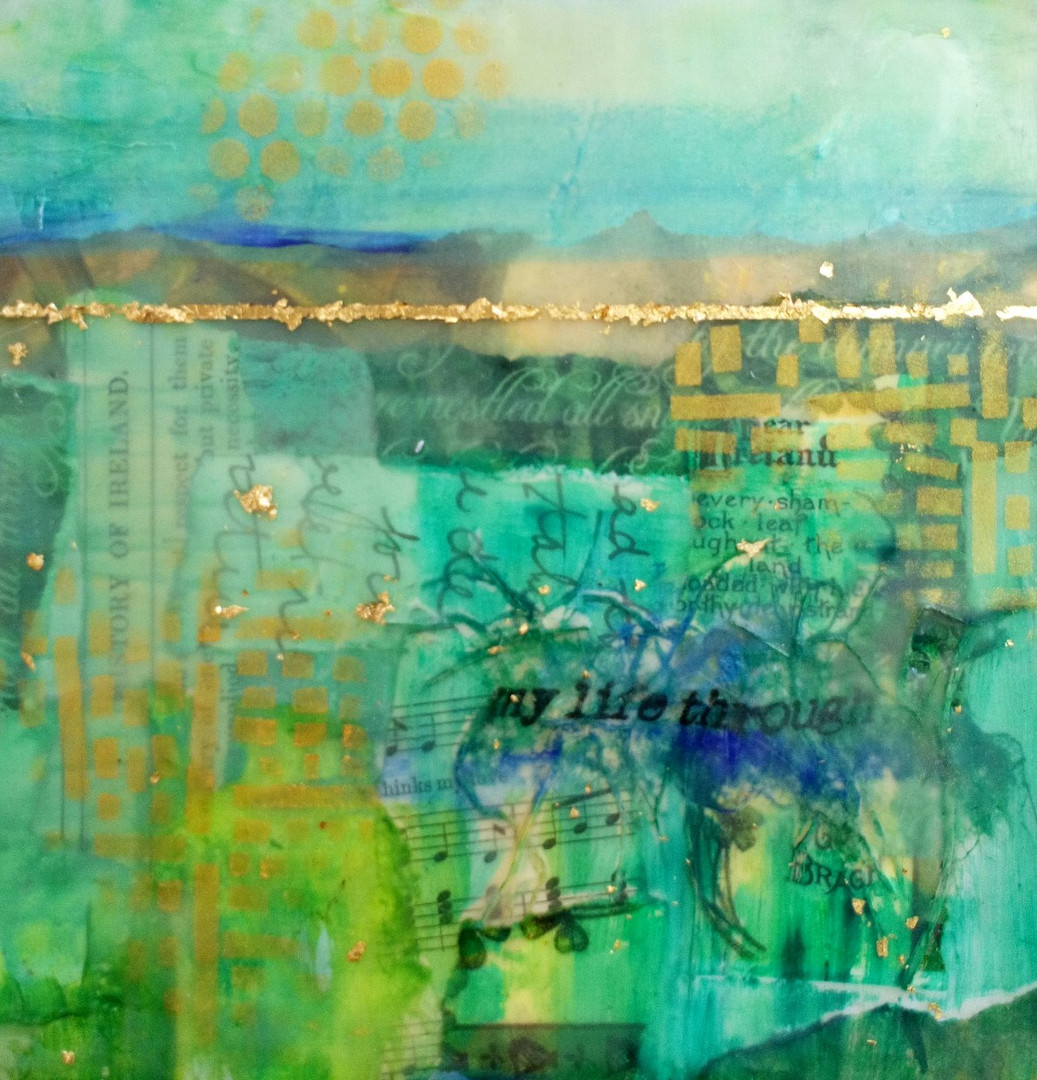 Patchwork in Green 3