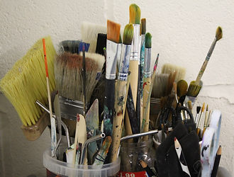 Selection of brushes and applicators.JPG