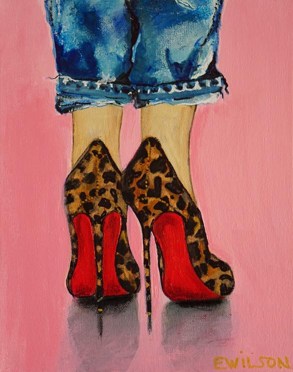 Shoe: Leopard