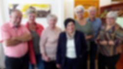 Le comité de l'Association Les Dauphins de Spechbach