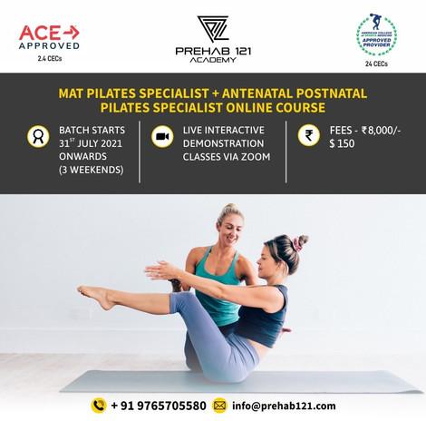 Mat Pilates Specialist