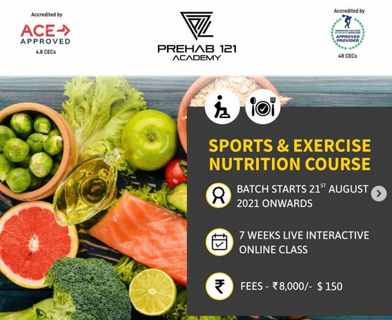 Sports & Exercise Nutrition Course