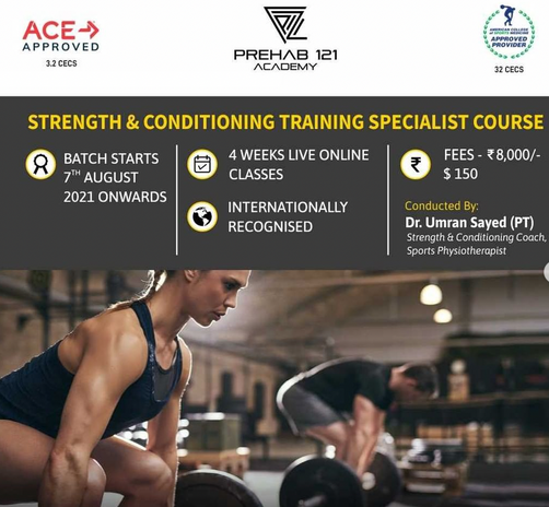 Strength & Conditioning Training Specialist