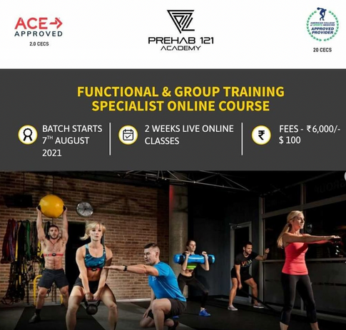 Functional & Group Training Specilaist
