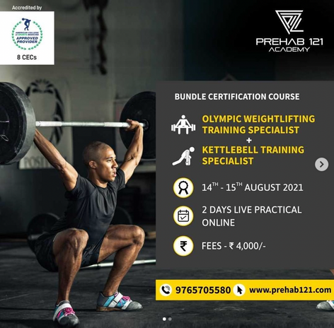 Olympic Weight lifting Training Specialist
