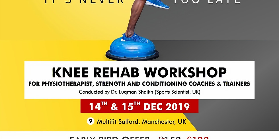 Knee Rehab Workshop - Machester, UK (1)