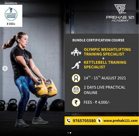 Kettlebell Training Specialist