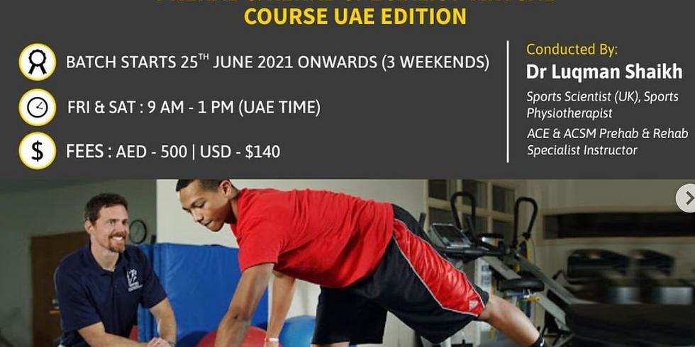 Prehab and Rehab Specialist UAE Edition