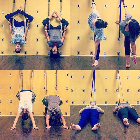 Yoga Wall Session