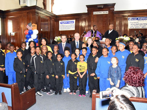 Mt. Calvary Hosts Installation Ceremony for Elected Officials. Gov. Murphy, Mayor Fulop, and more.