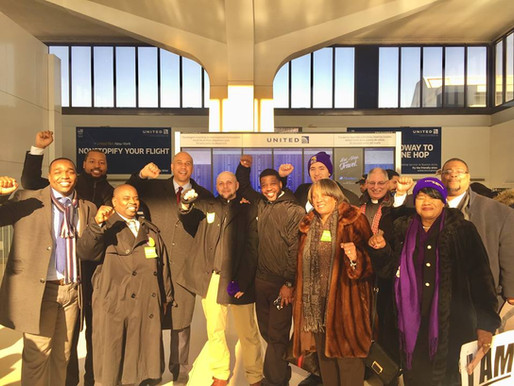 NJ Clergy and Elected Officials Seek Fair Wages for Newark Liberty Airport Workers