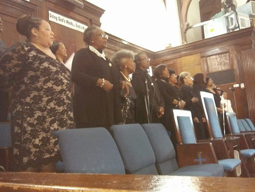 Mass Choir Featured in Installation Ceremony at Mt. Calvary for Elected Officials