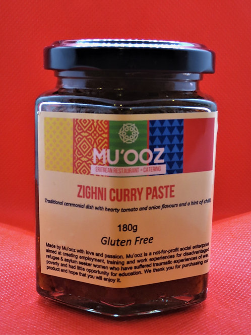 Zighni curry paste