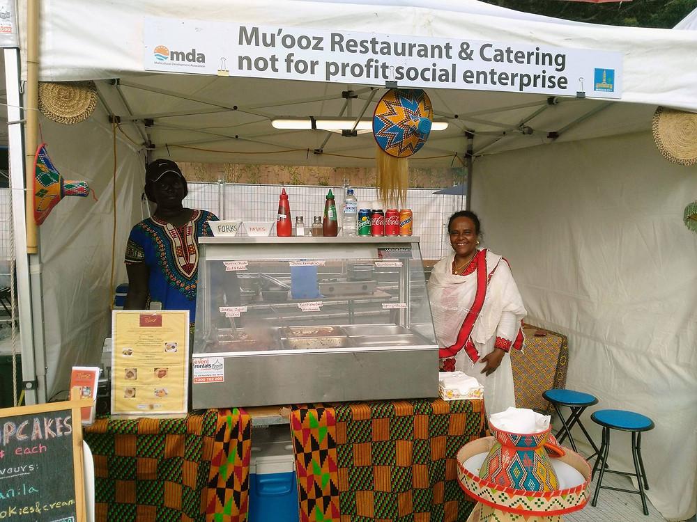 Mu'ooz woodford festival