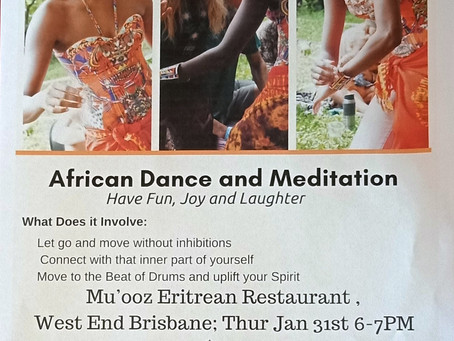 African Dance and Meditation
