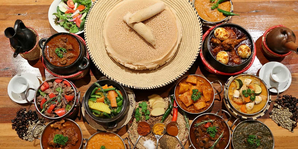 African Cooking Class - Mixed Dishes (28/09/2019)
