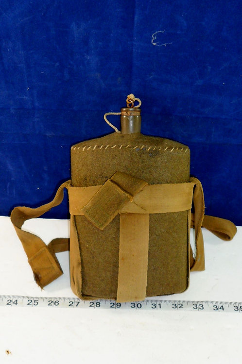 Military Canteen With Carrier And Strap