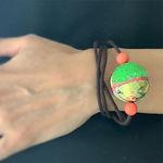 Mari bracelet.__年中夏のマレーシアでは、毎日腕を出しているのでブ