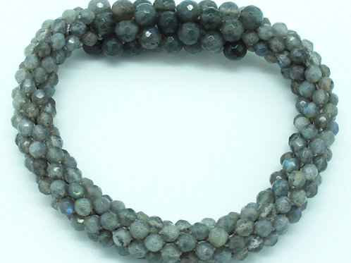 Labradorite Bar Bangle