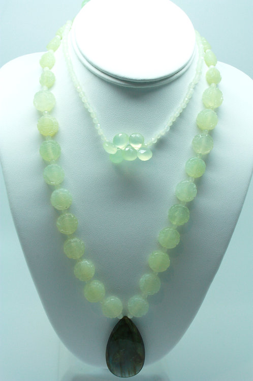 Long Jade Necklace