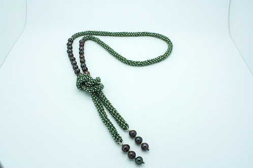 Ocean, Silver and Pearl Rope