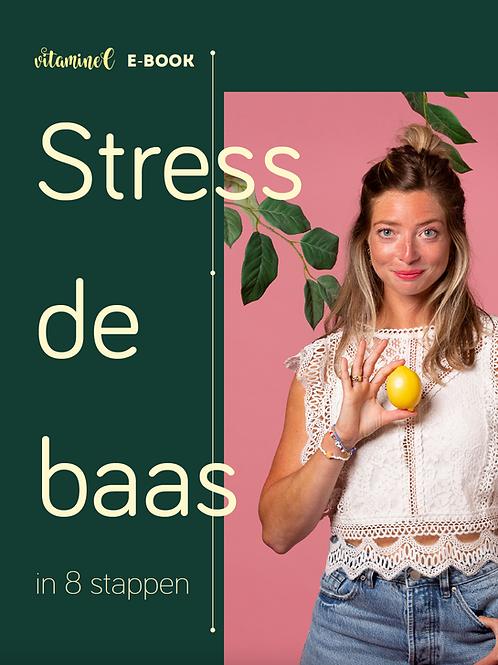E-book Stress de baas in 8 stappen