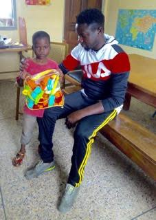 Paul and John, A Teacher and a Future Teacher in Ghana!